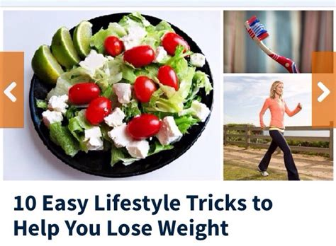 A Trick That Helps To Lose Weight by 10 Easy Lifestyle Tricks To Help You Lose Weight Trusper