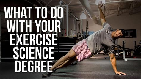 exercise science salary youtube