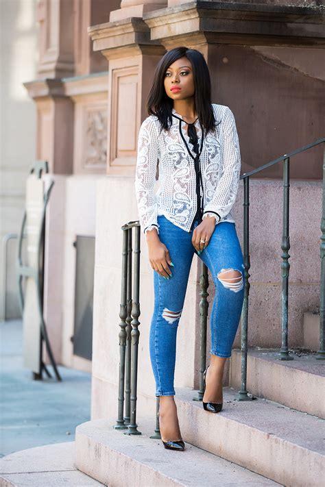 Bj 0788 Simple Casual Blouse lace jadore fashion