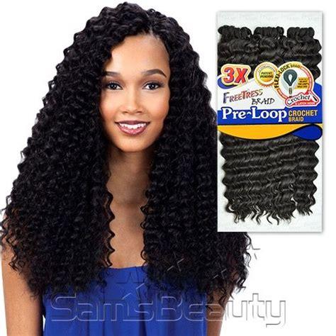Four Micro Onde 3780 by Freetress Synthetic Hair Braids 3x Pre Loop Crochet Braid