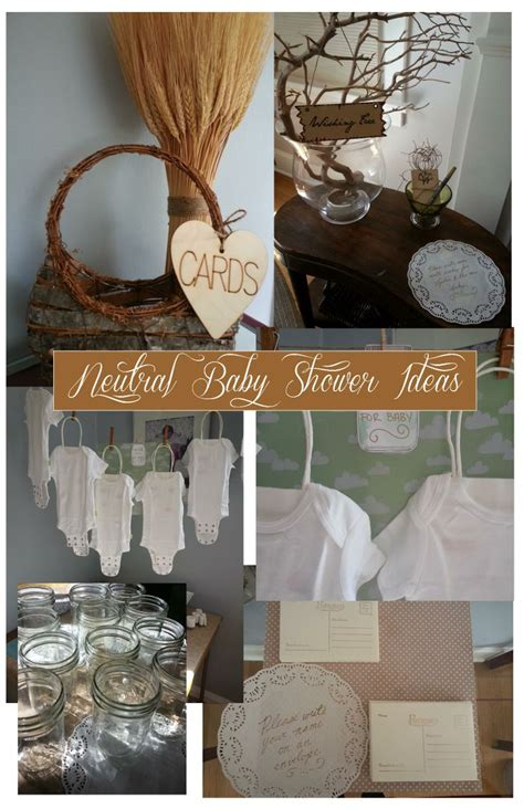 Neutral Baby Shower Themes by Neutral Baby Shower Ideas