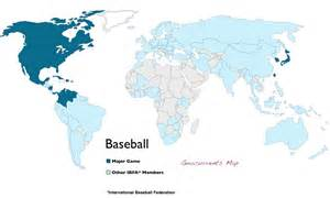 united states of baseball map the world of baseball and of tim lincecum geocurrents