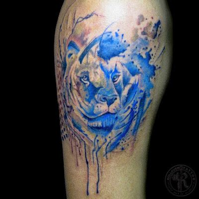 jesus tattoo watercolor lion watercolor tattoo