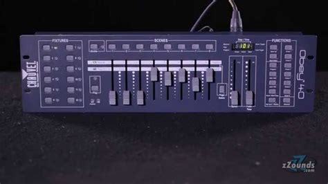 Lighting Controller zzounds com chauvet obey 40 dmx lighting controller youtube
