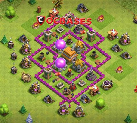 layout coc farming th6 top 20 best th6 farming defense base layouts 2018 new
