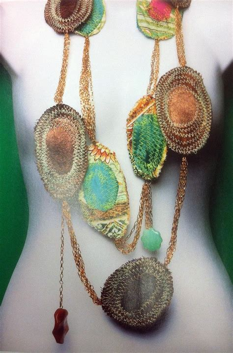 fabric crafts jewelry 17 best images about textile jewellery on