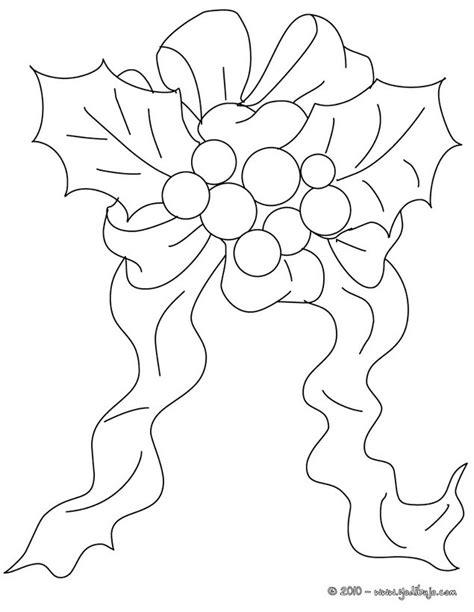 imagenes para pintar navidad para niños dibujos para colorear acebo de navida con seda es