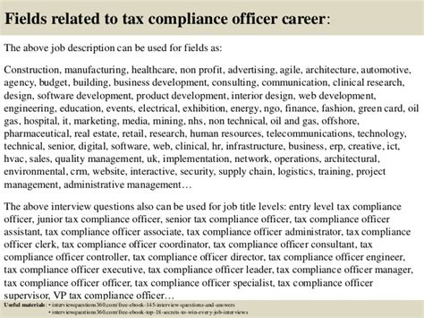 fashion design assistant jobs top 10 tax compliance officer interview questions and answers