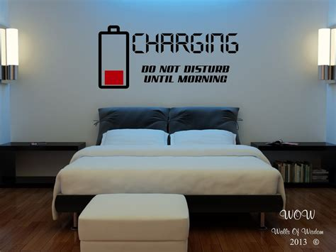 bedroom decals for adults children bedroom wall stickers wall charging do not disturb ebay