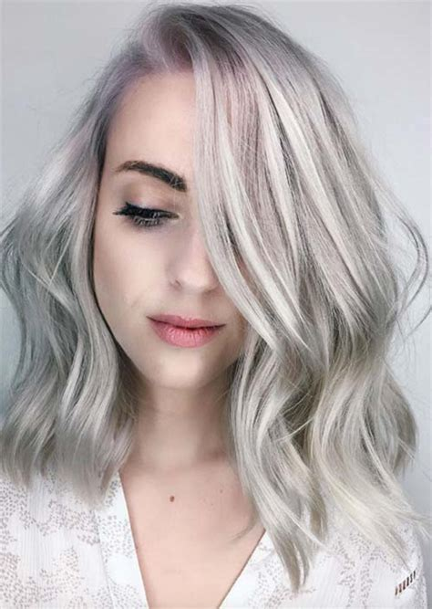 hair color grey silver hair trend 51 cool grey hair colors tips for