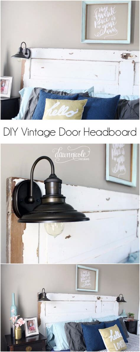 diy vintage headboard 31 fabulous diy headboard ideas for your bedroom diy