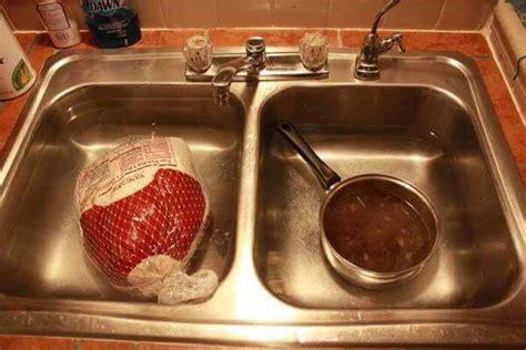 thawing turkey in sink turkey brine for great smoked turkey smoker