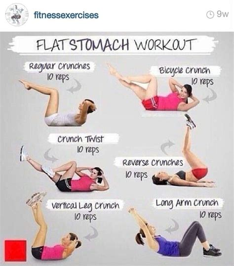 easy flat stomach workout at home work outs that