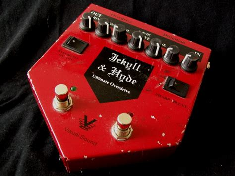 Jackyl Hyde Overdrive Distortion visual sound jekyll hyde overdrive and distortion like the strokes guitar lover guitar