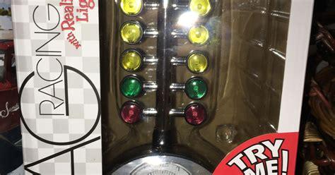 awesome drag racing tree alarm clock