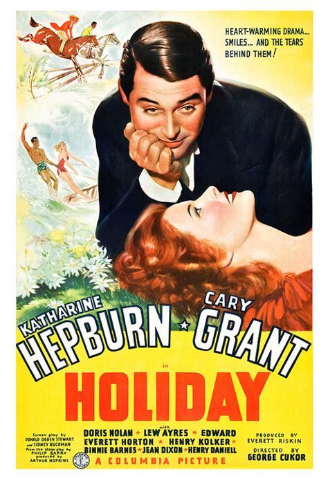 film romance us holiday katherine hepburn cary grant movie romance poster
