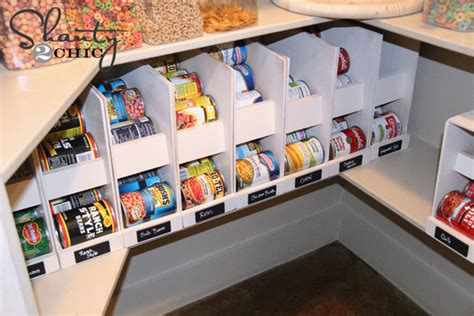 Diy Pantry Can Organizer by 16 Diy Canned Food Organizers