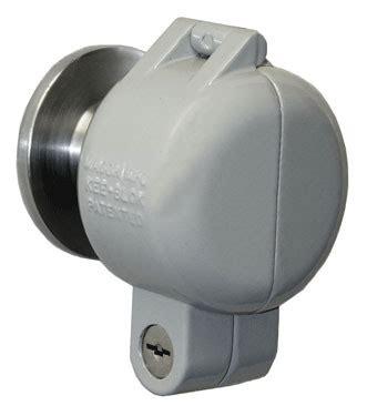 kee blok a100 door knob lock cover | lock over door knob