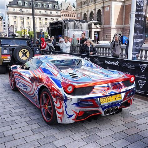 chrome 458 spider chrome 458 spider from oman gumball3000 rally