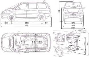 Peugeot Dimensions Peugeot 807 Citroen C8 Fiat Ulysse Lancia Phedra