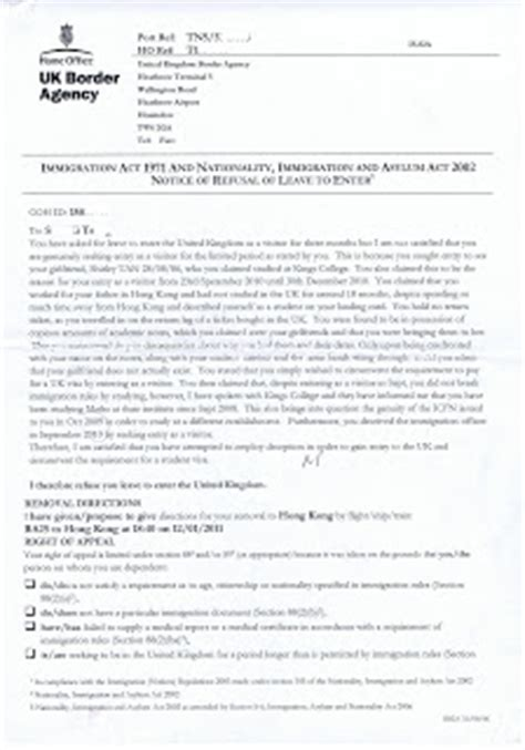 Rejection Letter For Visit Application Rejection Letter Uk Editing The Essay Part One Harvard Writing Center