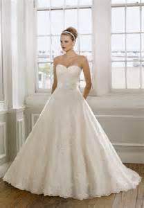 sweetheart gowns sweetheart strapless lace wedding dress with a line silhouettecherry cherry