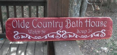 country home decor signs bathrooom decor country home decor wood signs bath sign