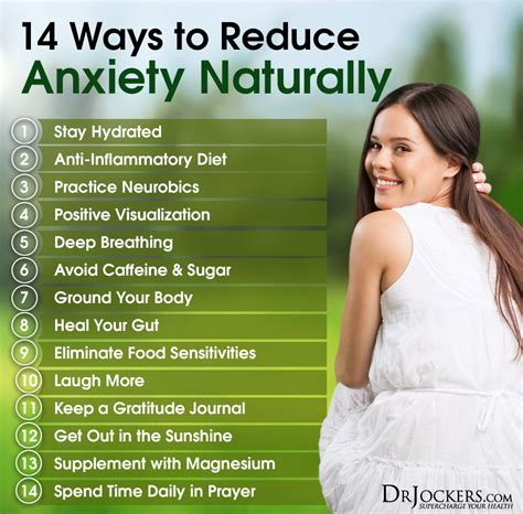 reduce anxiety 14 ways to reduce anxiety naturally drjockers com