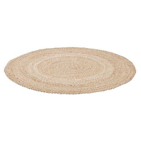 vloerkleed rond 180 cm vloerkleed madras naturel 216 180 cm