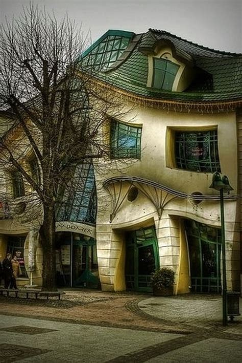 crooked house in sopot poland is like a children s book the most beautiful pictures of poland 17 photos travel