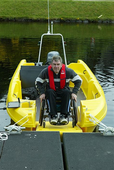 pioner wheelchair access to pioner multi boats - Wheelchair Fishing Boat