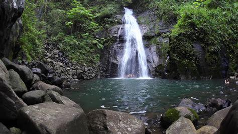 pulhapanzak waterfalls in honduras stock footage video