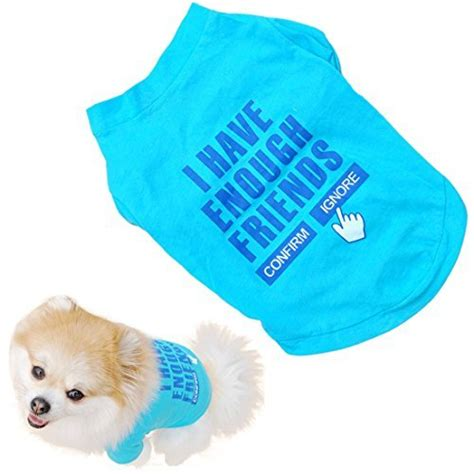 puppy clothes boy clothes for small dogs boy t shirts