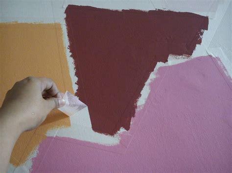tutorial cat unik diy cat dinding kreatif untuk hiasan dinding ruang makan