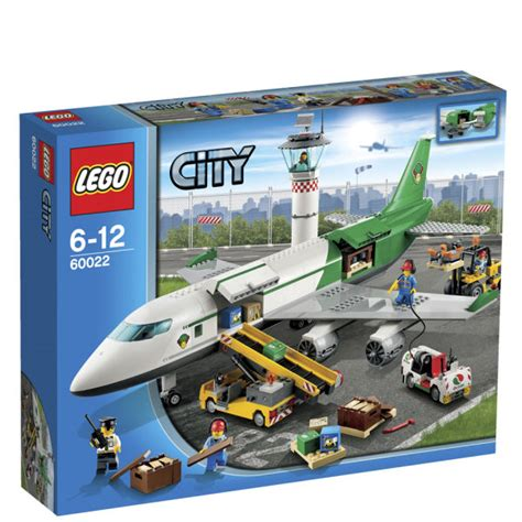 Ready Lego 60101 City Airport Cargo Plane Limited lego city airport cargo terminal 60022 toys zavvi