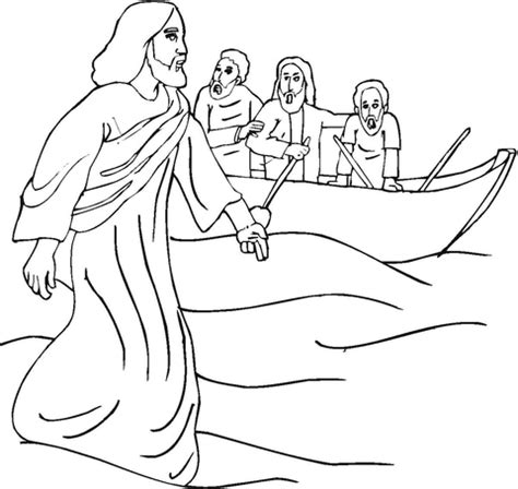 coloring pages of jesus miracles miracle coloring page supercoloring com