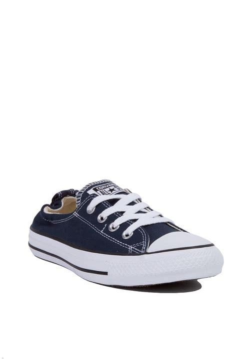 Converse Slop Navy converse chuck shoreline slip on low top sneakers
