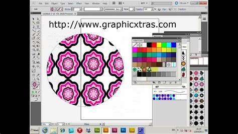 pattern illustrator tutorial cs5 illustrator brushes as source for swatches patterns
