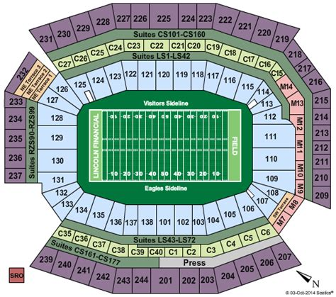 lincoln financial contact number the eagles tickets seating chart lincoln financial field