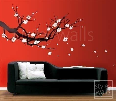 Wall Stickers Nursery Australia cherry blossom sakura tree large vinyl wall decal