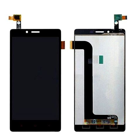 Lcd Xiaomi Redmi 4x Complete With Touchscreen lcd with touch screen for xiaomi redmi note 4g black by maxbhi