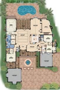 mediterranean mansion house plans