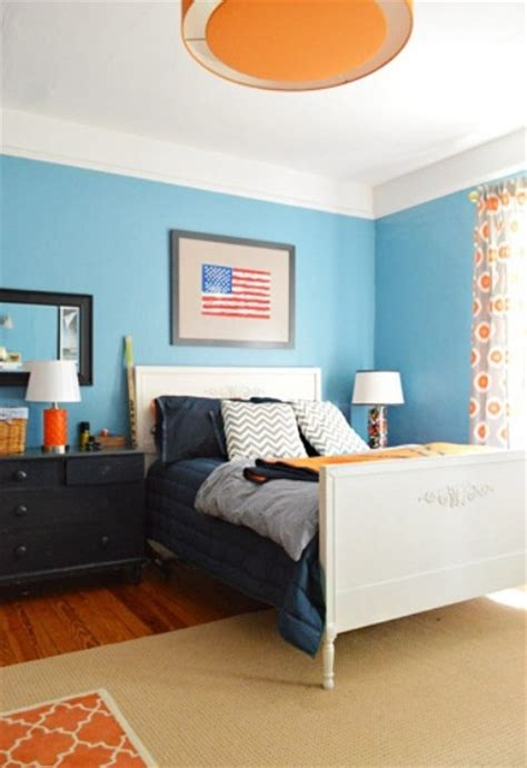 blue  turquoise accents  bedroom designs  stylish