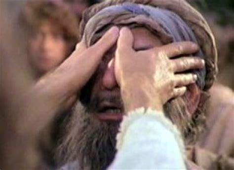 Said The Blind understanding healing sickness and disease was
