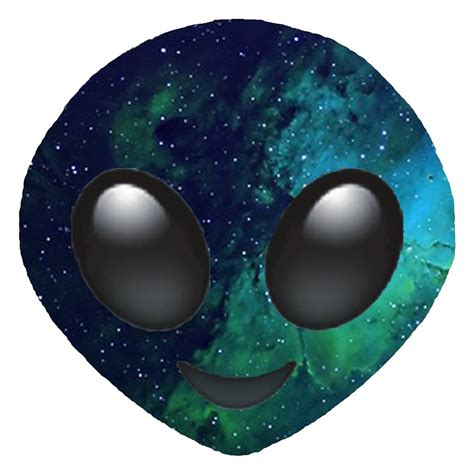 emoji alien quot galaxy alien emoji quot by jnxgny redbubble