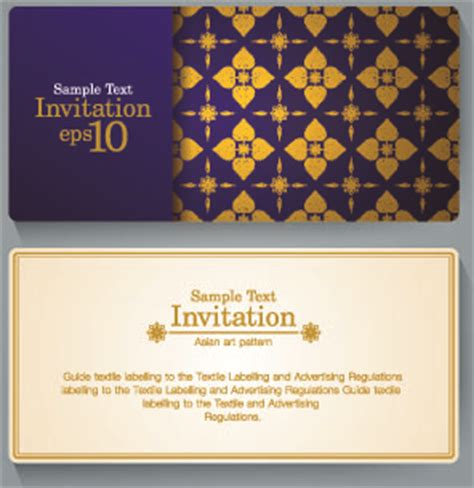 how to design an invitation card using coreldraw free invitation card design free vector download 12 708