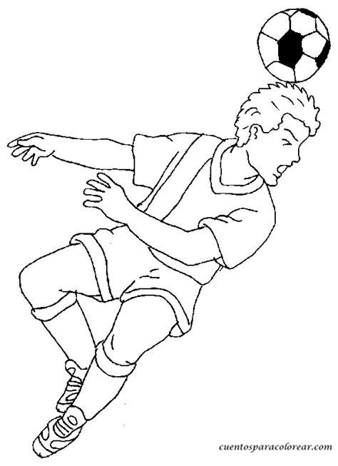imagenes para colorear futbol dibujos para colorear f 250 tbol y futbolistas