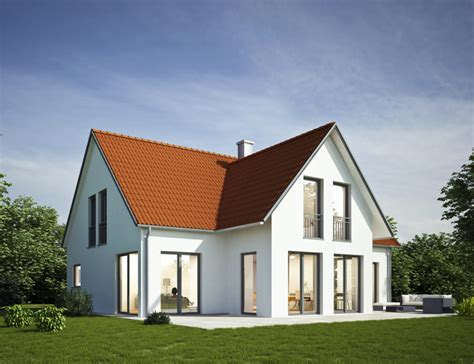 Fassadengestaltung Einfamilienhaus Rotes Dach by Fassadengestaltung Einfamilienhaus Rotes Dach Zanzibor