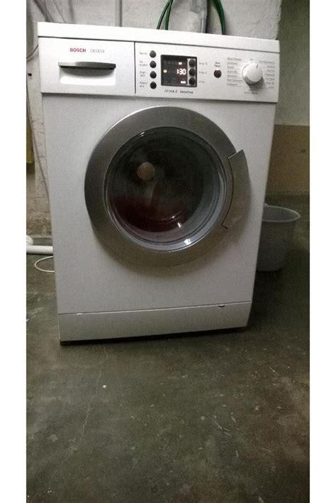 bosch waschmaschine exclusiv bosch exclusiv maxx 6 sensitive waschmaschine in rendsburg