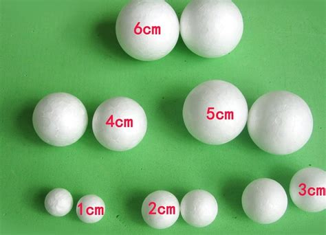 how big is a diy manual material diameter 8cm foam balls styrofoam balls wedding supplies size from 1cm to
